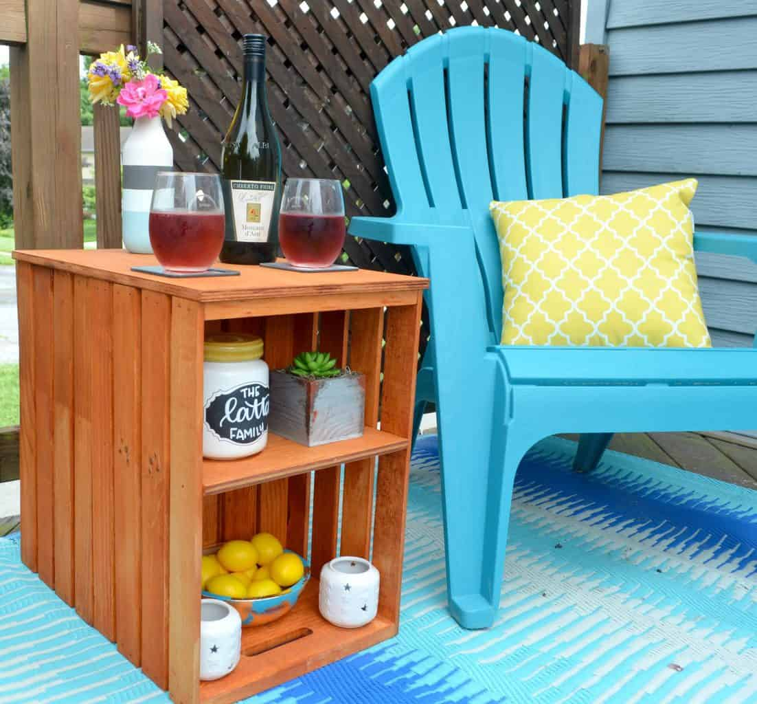 diy outdoor furniture, diy outdoor table, diy patio furniture