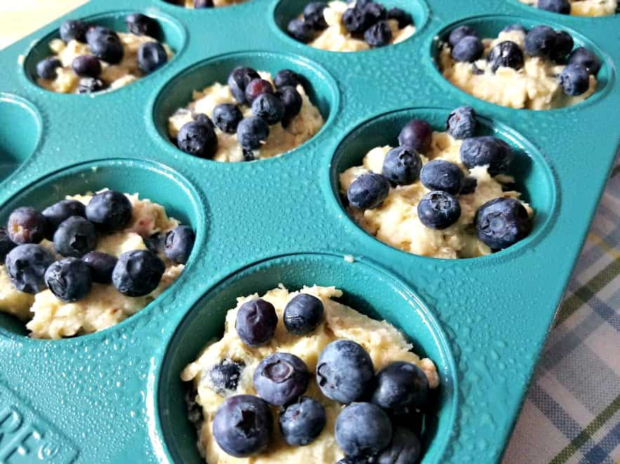 blueberry oat muffins, blueberry oatmeal muffin recipe