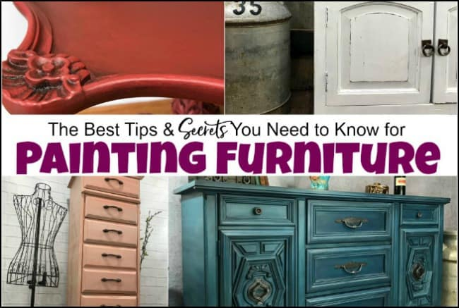painting furniture, tips, hacks, painted furniture, how to paint furniture, secrets furniture painting