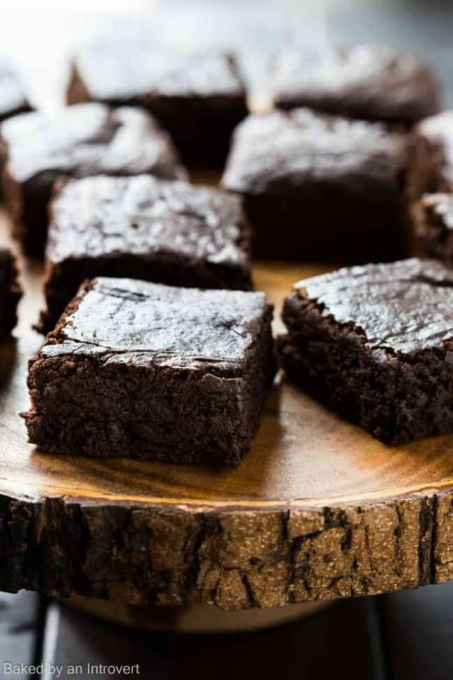 vegan brownies, mother's day dessert recipe ideas, mother's day recipes