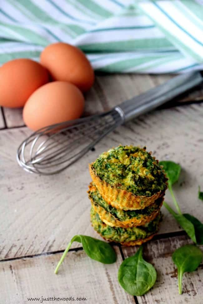 make ahead egg muffins, healthy breakfast egg muffins, veggie egg muffins