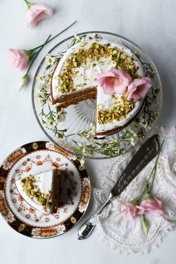 vegan carrot cake, mothers day recipes, mothers day dessert recipes, mothers day vegan cake