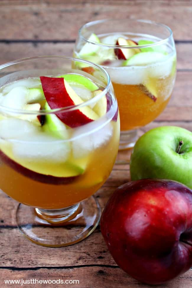 fall sangria recipe, fall apple cider sangria, sangria recipe with vodka
