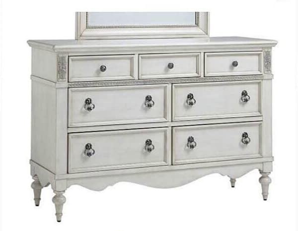 customers dresser, off white dresser, painting laminate dresser