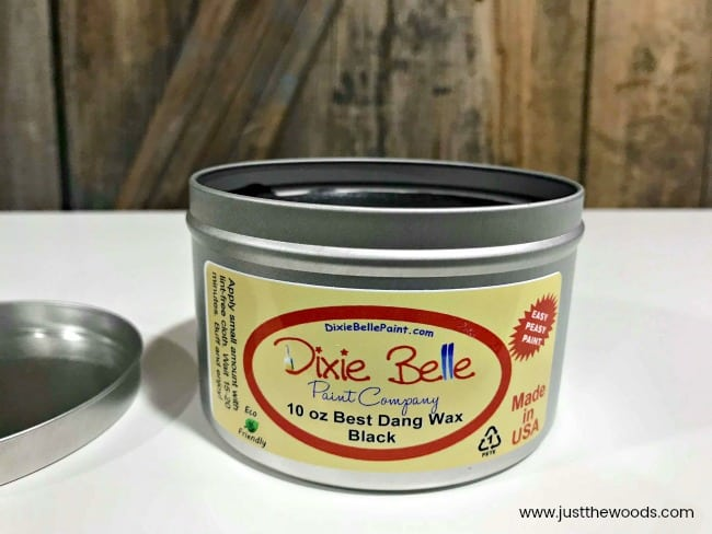 black furniture wax, best dang wax, dixie belle wax, furniture wax