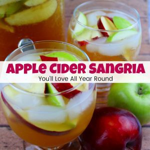 Apple Cider Sangria You'll Love All Year Round