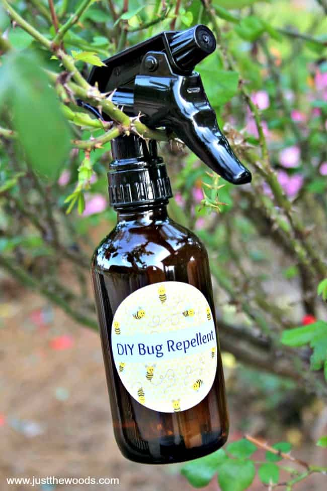 how to make insect repellent, homemade bug spray, essential oil bug repellent