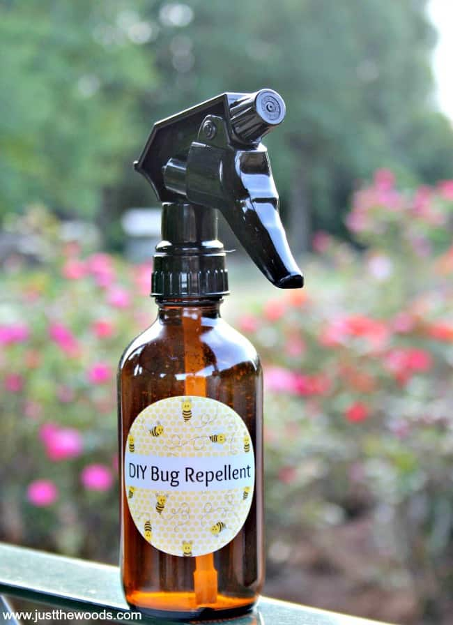 DIY bug repellent, homemade bug spray, natural insect repellent