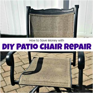 How to Save Tons of Money with DIY Patio Chair Repair