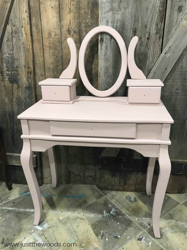 Little Something More Chalk Painted Vanity Pink Ideas Makeup