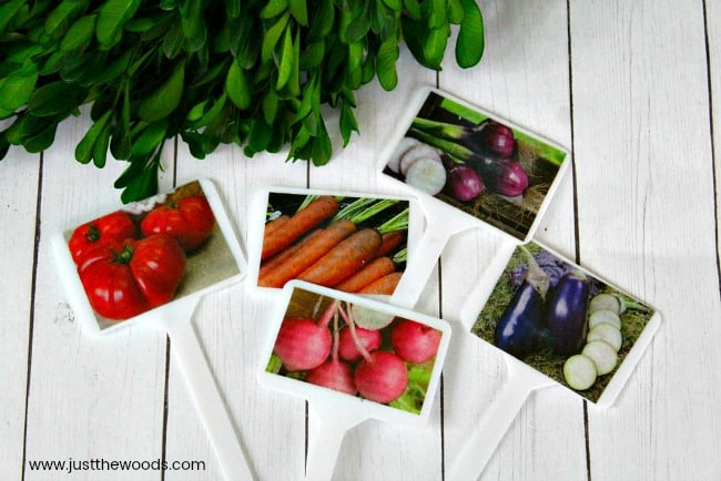 garden markers with mod podge, easy garden markers, herb garden markers