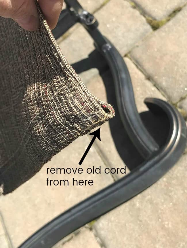 repair patio cling chairs, repair broken patio chairs