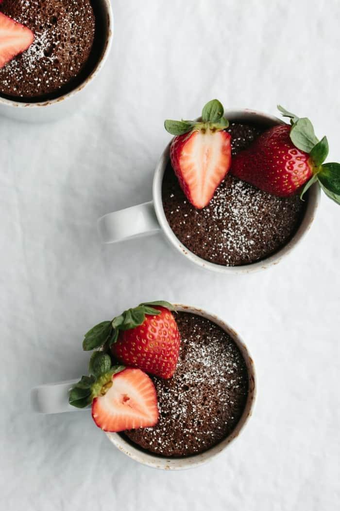 Gluten Free chocolate Mug Cake, gluten free cake in a mug, Gluten Free Mug Cake recipes