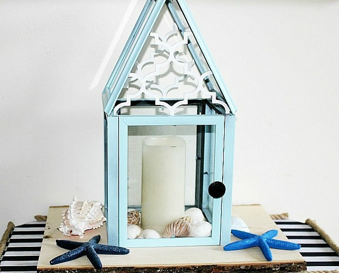DIY Lanterns, diy lanterns with frames, how to make a diy lantern