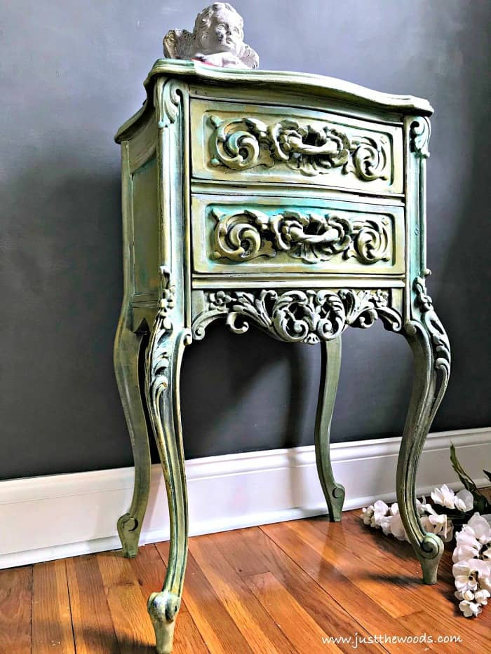 how to create aged look on wood, patina paint, Painting Wood Furniture, painted table ideas