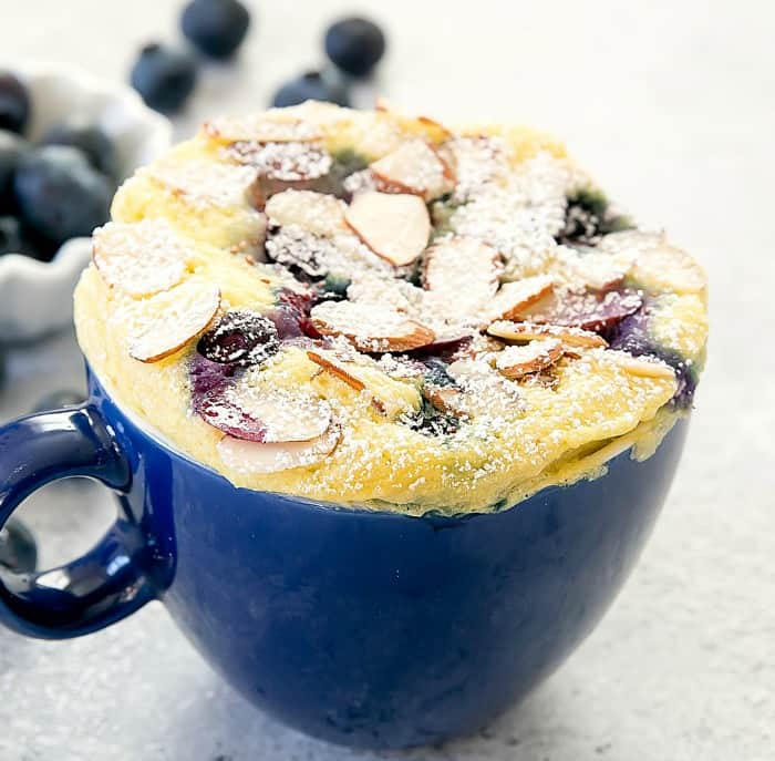 blueberry mug cake, Gluten Free Mug Cake, gluten free cake recipes