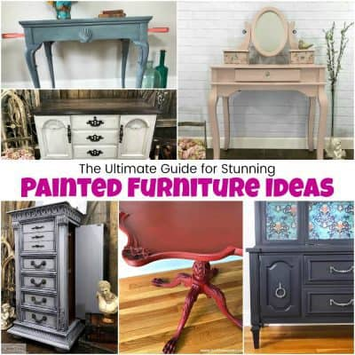 Collection Of Black Painted Furniture