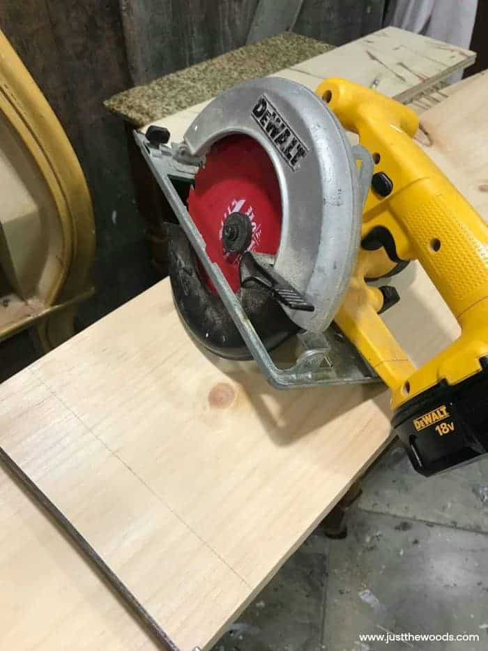 dewalt circular saw, woodworking, scroll saw, diy lantern tutorial