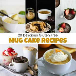 Gluten Free Mug Cake Recipes That Are Absolutely Delicious