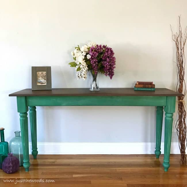 Chalk Painting Table Ideas, Painted Table Ideas, Painted Furniture Ideas,  Green Painted Table