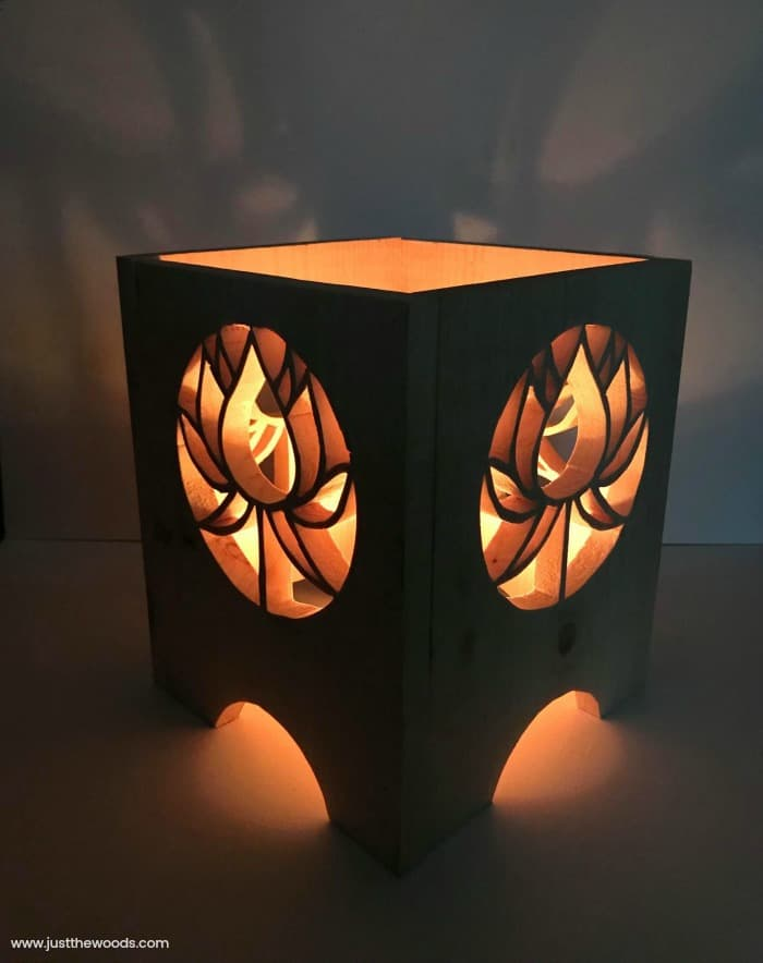 DIY Lanterns, wooden lantern, scroll saw lantern, how to make a lantern, diy wooden lanterns
