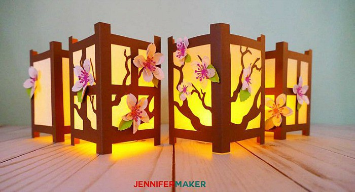 DIY Lanterns, paper lanterns, chinese paper lantern, diy paper lanterns, lanterns with flowers
