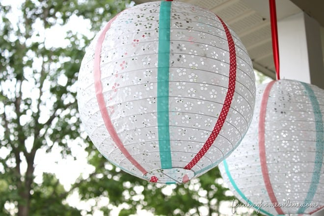 decorative paper lanterns, DIY Lanterns, decorative lantern, how to make paper lanterns