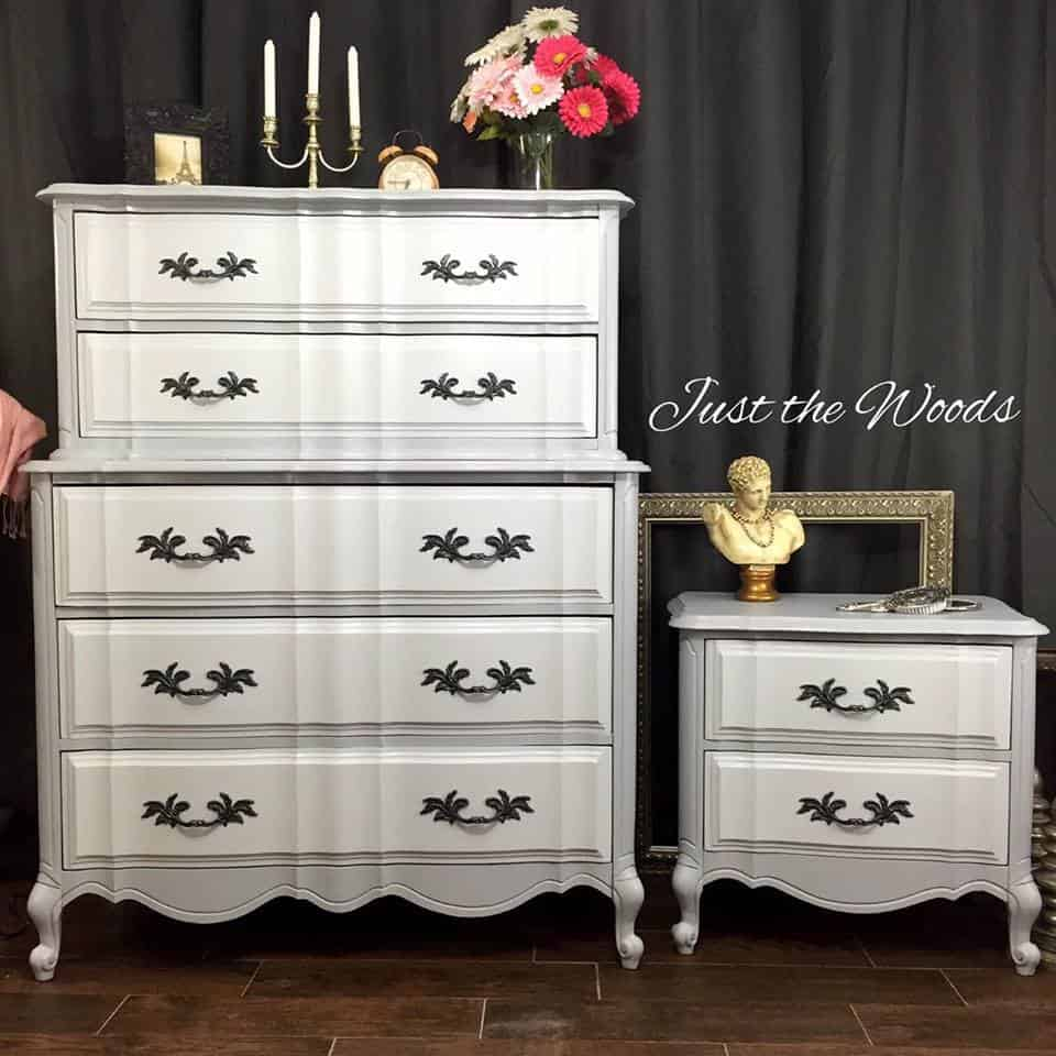 ideas for painted furniture. Painted French Provincial Furniture, Dresser Ideas, Furniture Chalk Ideas For T