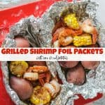 How to Cook Simple & Healthy Grilled Shrimp Foil Packets