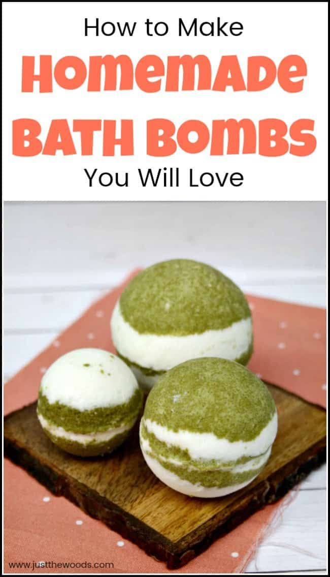 Homemade bath bombs make bathtime even better. This easy homemade bath bomb recipe will walk you through how to make homemade bath bombs for your next relaxing night in. With easy to find bath bomb ingredients you can grab a book, light a candle, sit back, soak it in and relax. #homemadebathbombs #howtomakebathbombs #easybathbombrecipe