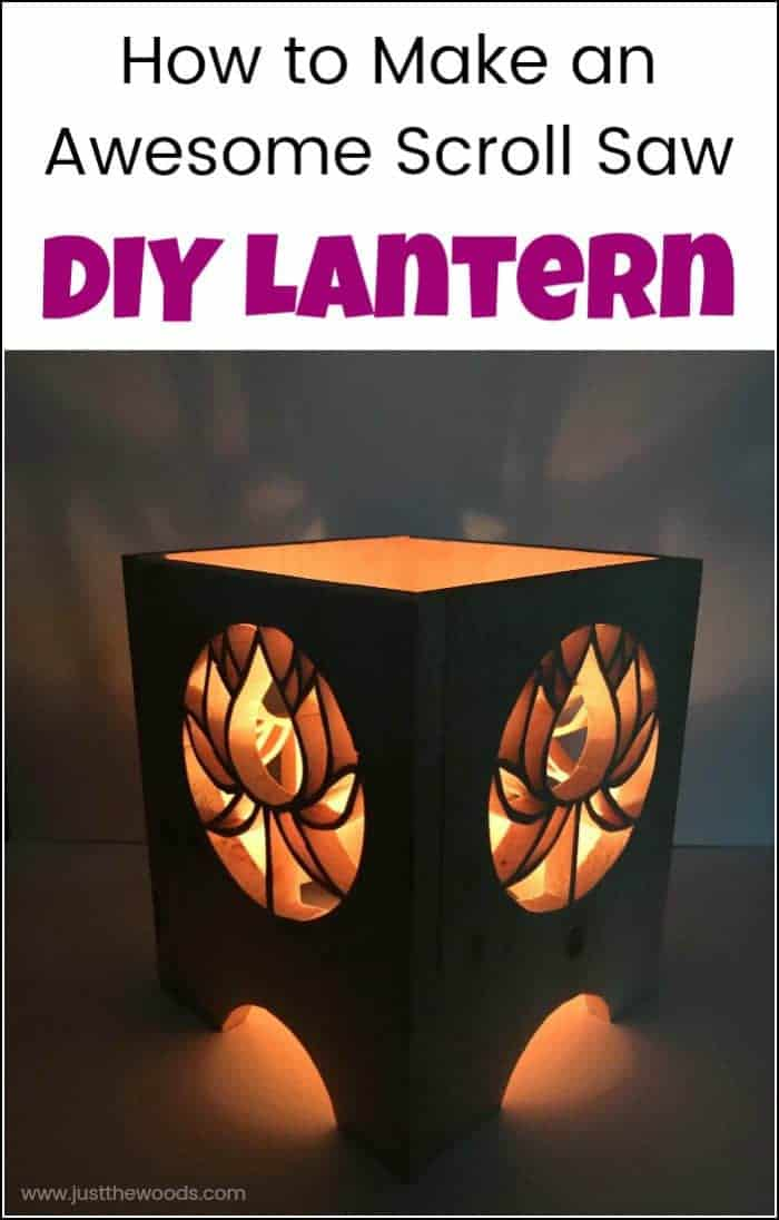 How To Make An Awesome Scroll Saw DIY Lantern Extraordinary Scroll Saw Patterns