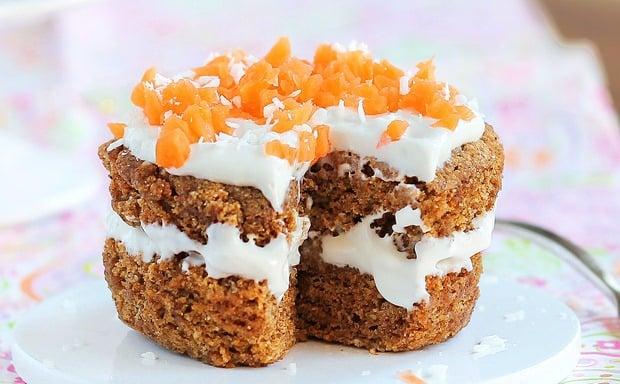 gluten free carrot cake, gluten free mug cake recipe, carrot mug cake