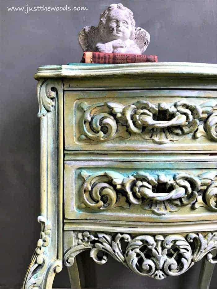 patina paint, patina on furniture, dixie belle patina paint