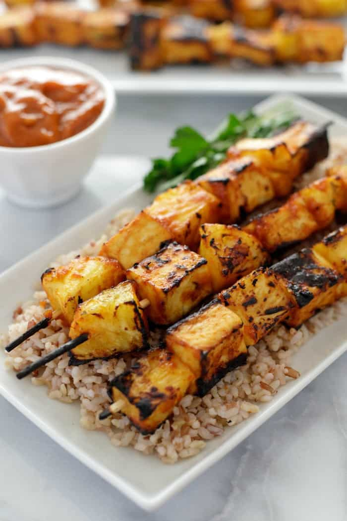 grilled pineapple skewers, summer grilling ideas
