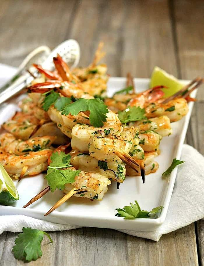 summer grilling ideas, grilled shrimp ideas, grilled shrimp recipe