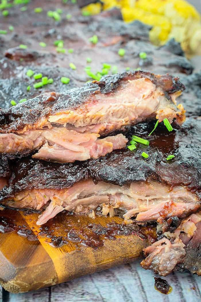 smoked bbq ribs, summer grilling ideas