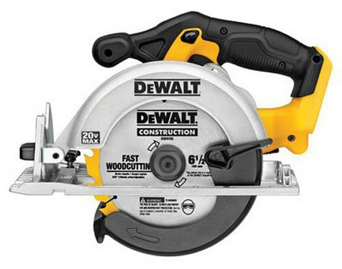circular saw, dewalt saw, dewalt circular saw, yellow tools, power tools, power tool list, diy tools