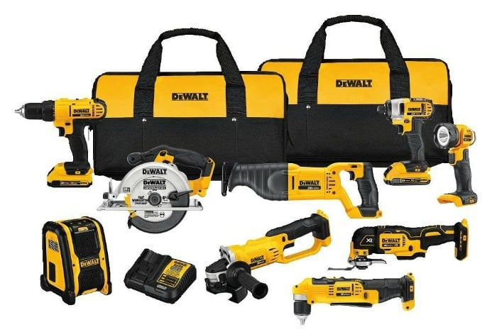 dewalt, diy tools, dewalt power tool set
