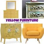 Gorgeous Yellow Furniture to Brighten Up Your Home