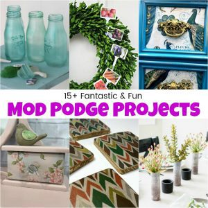 15+ Fantastic and Fun Mod Podge Projects You Need to Try