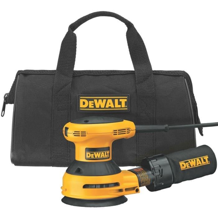 diy tools, orbital sander, electric sander, dewalt sander