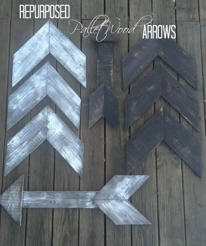 pallet wood arrows, diy arrows, wooden arrows