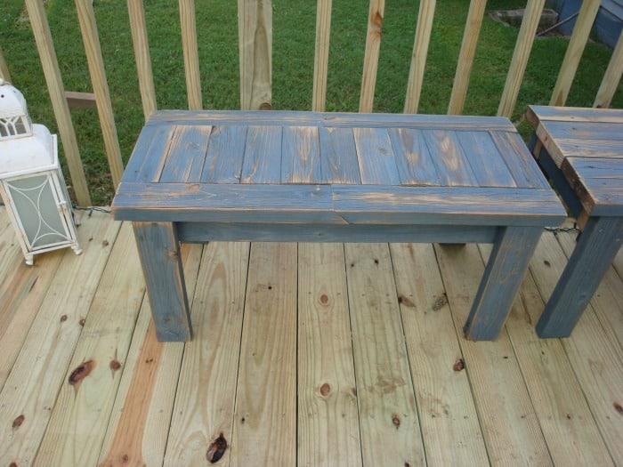 2x4 bench, diy bench