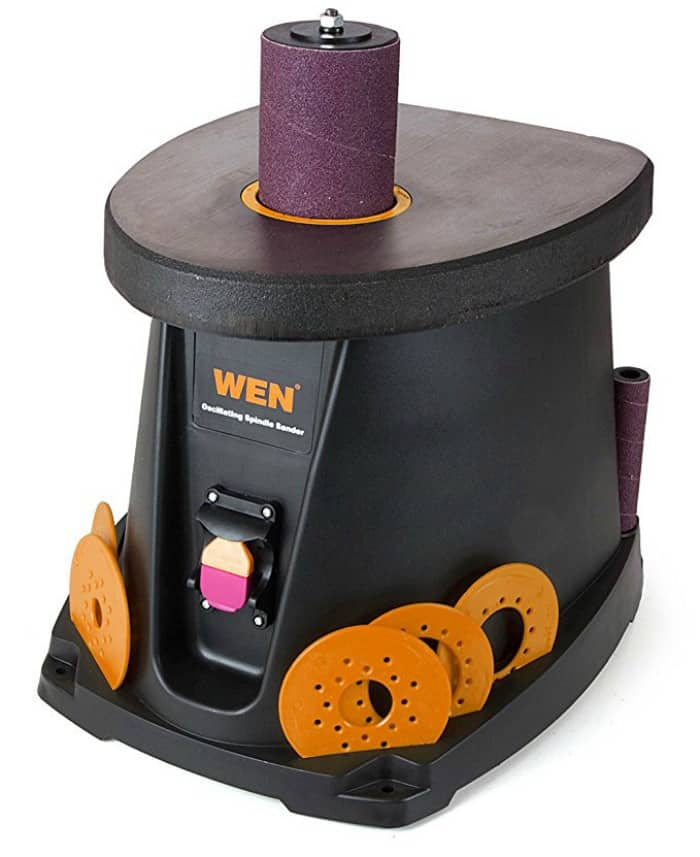 spindle sander, wen tools, power tools, electric tools, diy tools, oscillating sander