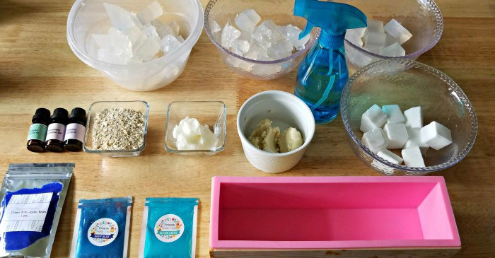 DIY Soap Bars, soap ingredients, soap making ingredients