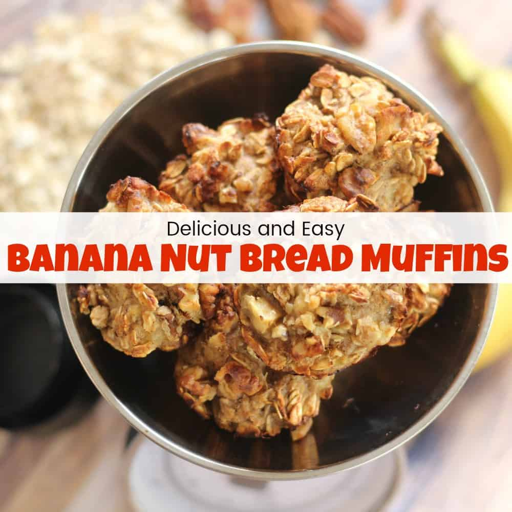 Delicious and Easy Banana Nut Bread Muffins