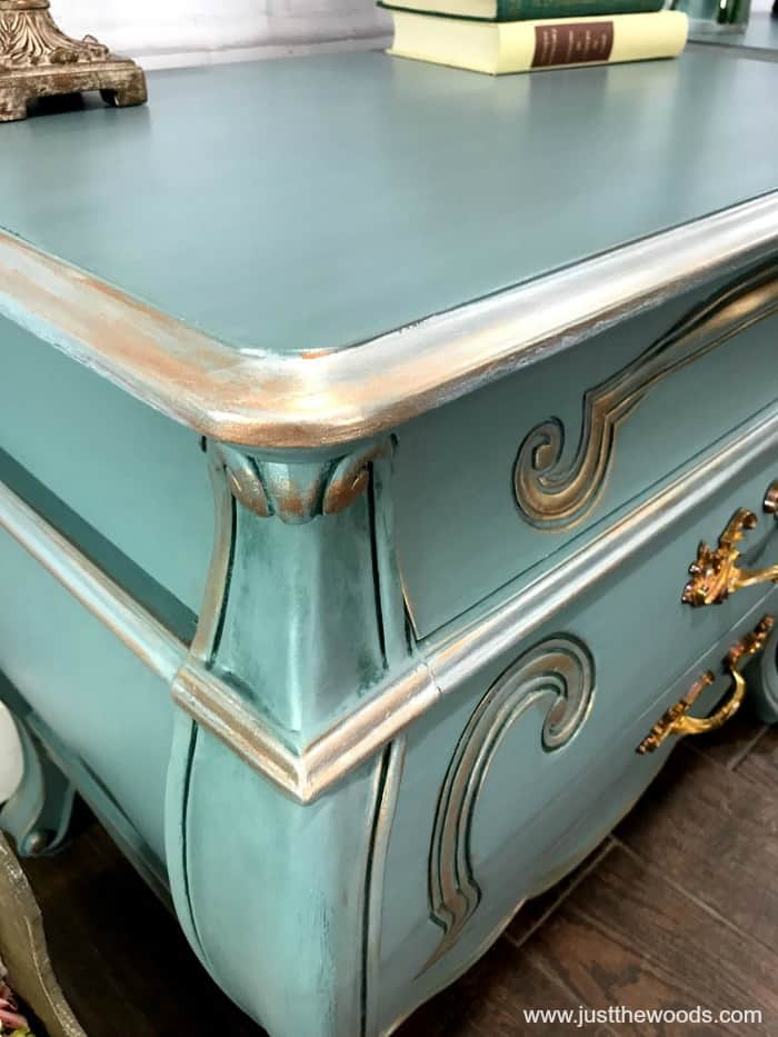 bronze paint on furniture, paint furniture, furniture makeover, painting furniture, refinish furniture with paint