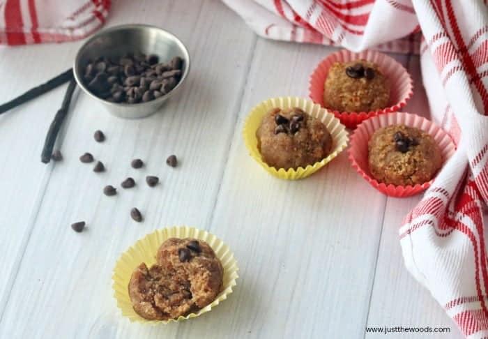 cake balls with chocolate chips, vanilla cake balls, cake balls recipe