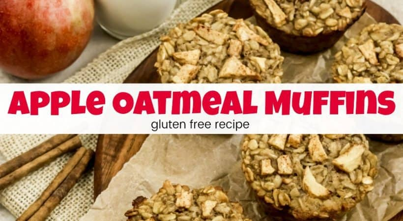 The Best Healthy Apple Oatmeal Muffins