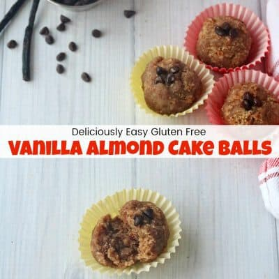 How to Make Delicious & Easy Vanilla Almond Cake Balls